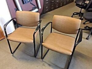 Lot Of 8 Guest side Chair By Steelcase Player Model 475482m