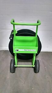 Industrial Banding strapping Cart 10 Pneumatic Tires