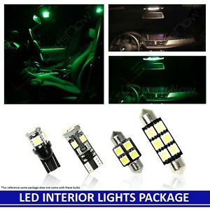 Green Led Interior Lights Package Fits Jeep Grand Cherokee 2005 2010