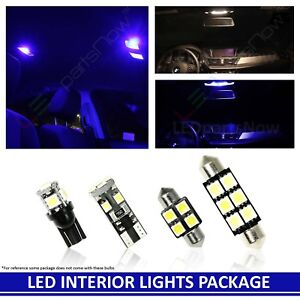 Blue Interior Reverse Led Lights Package For 2010 2016 Gmc Terrain