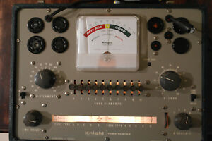 Vintage Knight Tube Tester From Allied Radio Nice Condition