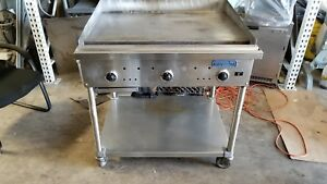 Imperial 36 Commercial Gas H d 1 Itg 36 U2624 Griddle Thermostatic Flat Grill