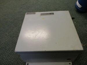 Misc Brand Enclosure Size 12 X 12 X 6 Type 12 13 Used