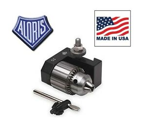 Aloris Axa 35 Dovetail Chuck Collet Drilling Holder For Tool Post Made In Usa