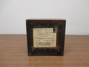 Vintage General Radio 106k Standard Inductance 100mh