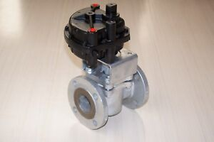 Xomox Tufline 2 Inch Sleeved Valve Matryx Actuator Cleaned Tested Warranty