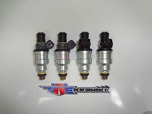 Tre Flowmatched 550cc Fuel Injectors Audi Chevy Ford Bosch 1 8t Turbo 2 3 52lb 4