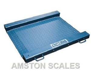 2000 X 0 5 Lb Digital Drum Scale 27x27 Portable Floor Steel Ntep Legal 4 Trade