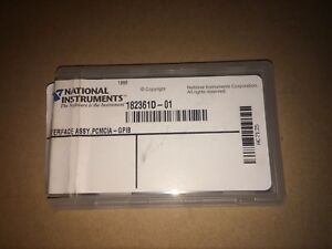 Ni National Instruments Pcmcia Gpib Card 182361d 01