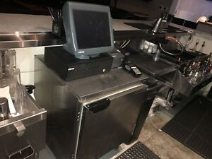 Micros Pos 3700 Ws5 Mexpress Restaurant Bar Point Of Sale System 3 Terms Printer