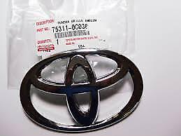 2007 2013 Toyota Tundra And Sequoia Front Grille Emblem Genuine Toyota Item Oem
