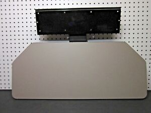 Herman Miller Large 27 Keyboard Tray System Gray With Arm Under Desk