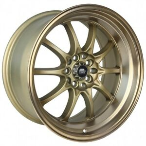 Mst Wheels Mt11 Rims 15x8 4x100 114 3 0 Offset Stepped Lip Satin Bronze New