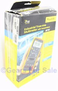 Fluke 87v Industrial Trms Multimeter With Temp New In Opened Box