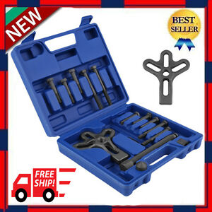 14pcs Harmonic Balancer Gear Pulley Steering Wheel Yoke Puller Crank Oy