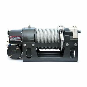 Dk2 Electric Worm Drive Winch Viking 12000 Lbs
