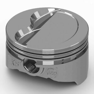 Kb Pistons Piston Set Kb355 030 4 030 Bore 10 0cc Dish For Ford 331 Sbf