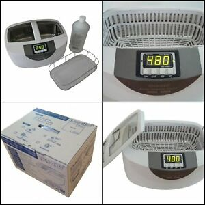 Commercial Ultrasonic Cleaner Cleaning Supplies White Plastic Basket 110v