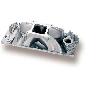Holley Intake Manifold 300 4 Strip Dominator Single Plane Aluminum For Bbc