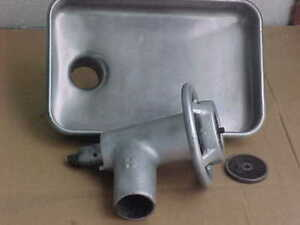 Hobart 22 Commercial Meat Grinder Attachment W S s Tray
