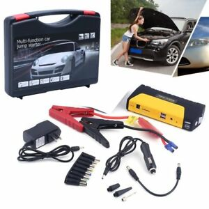 12v 68800mah Portable Battery Jump Starter Air Compressor Car Booster Jumper Oy