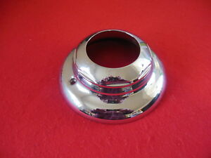 Weld Custom Wheel Center Cap Chrome 8 Diameter 2 5 8 Deep Open End 3 1 4