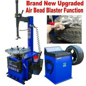 New 1 5 Hp Tire Changer Wheel Balancer Machine Combo Rim Clamp950 680