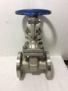 Oic 2 Flanged Stainless Steel Gate Valve Class 150 Cf8m