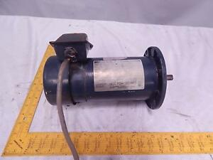 Boston Gear Pm950atf 1 Variable Speed D c Motor 1 2 Hp 90 V Arm 5 35 A Arm T848
