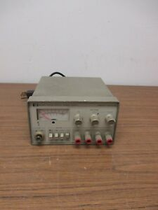 Hp 6235a Triple Output Variable Dc ma Power Supply