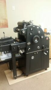 Ab Dick 360 Printing Press Offset