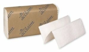Acclaim 20204 White Multifold Paper Towel Case Of 32 250 Towels Per Pack