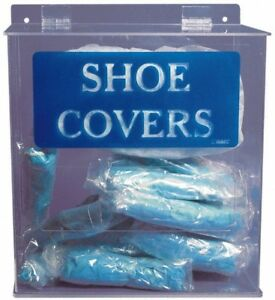 Pro safe Table And Wall Mount Shoe Cover Dispenser 11 3 4 Inch Wide X 6 Inch