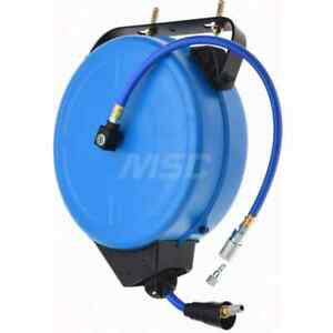 Pro source 40 Spring Retractable Hose Reel 300 Psi Hose Included
