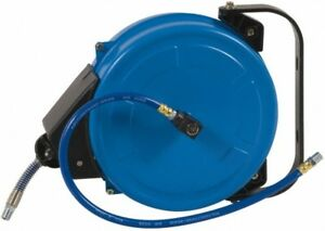 Pro source 33 Spring Retractable Hose Reel 300 Psi Hose Included