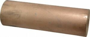 Made In Usa 2 Inch Outside Diameter X 6 1 2 Inch Long Bronze Round Tube 3 4