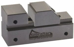 Gibraltar 13 16 Capacity 3 8 High Steel Toolmakers Vise Flat Jaw 2 55 O