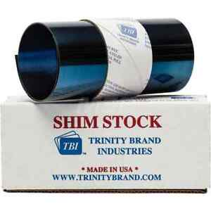 Made In Usa 50 Inch Long X 6 Inch Wide X 0 015 Inch Thick Roll Shim Stock Sp