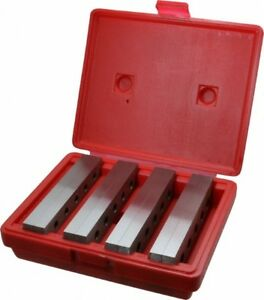 Value Collection 8 Piece 6 Inch Long Tool Steel Parallel Set 1 To 1 3 4 Inch
