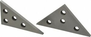 Value Collection 30 To 90 Angle Angle Block Set 1 4 Inch Thick 10 Minutes