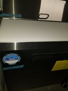 Prep Table Cooler Refrigerator W New Cutting Board