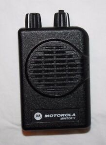 Motorola Minitor V A03kms9239bc 2 Channel Sv Vhf High Band 151 158 9975 Pager A