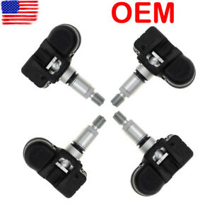 4 Pcs Oem Tire Pressure Tpms Sensor For Mercedes Benz C250 C300 C350 Cl550 Cl600