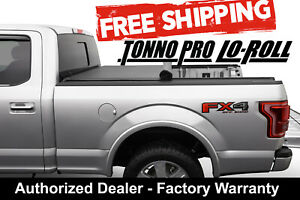 Fits A 07 Tundra Crew 5 5 Ft Bed Tonno Pro Soft Lo Roll Tonneau Cover Lr 5010