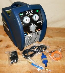 Bacharach 2020 8001 Refrigerant Recovery Machine 115 V 1 Hp