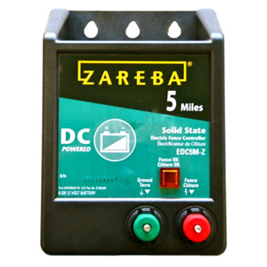 Brand New Zareba Edc5m z 5 mile Battery Operated Solid State Fence Charger