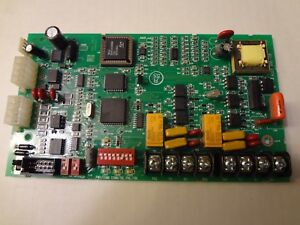 Simplex 566 158 Rev A 4100 Fire Alarm Serial Interface Dact Board Free Shipping