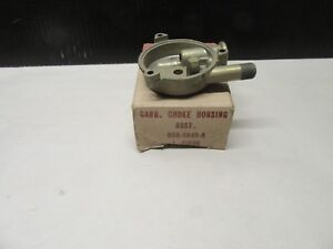 1956 Ford With Holley 2v Carburator Choke Housing Nos Truck F100 Fairlane