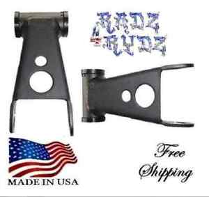 1972 1993 Dodge Ram Charger D100 D150 2wd 2 Lowering Shackles Leveling Kit