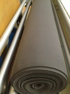 Auto Headliner Upholstery Fabric With Foam Backing 120 X 60 Charcoal Gray